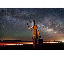 Cosmic Hitchhiker Photographic Print