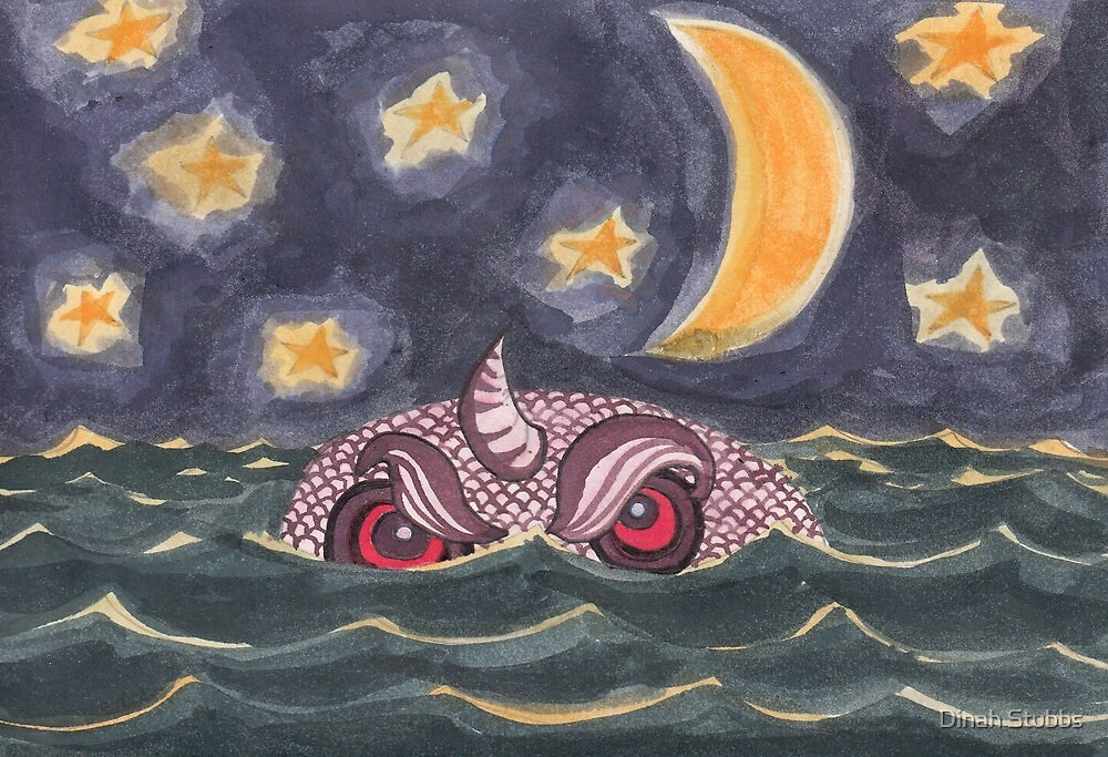 Sea Monster by Dinah Stubbs