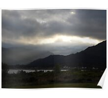 Loch Linhie scenery Poster