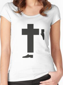 michael jackson tribute Women's Fitted Scoop T-Shirt