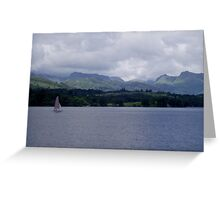Lake Windermere Greeting Card