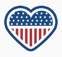 American Patriot Heart by crunchyparadise