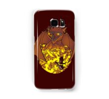 The Fire: an epic fight. Samsung Galaxy Case/Skin