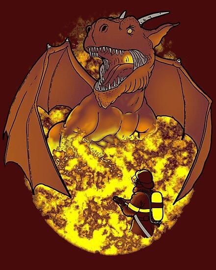 The Fire: an epic fight. by J.C. Maziu
