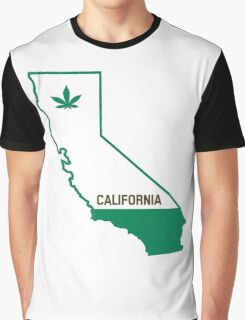 California The Green State Graphic T-Shirt