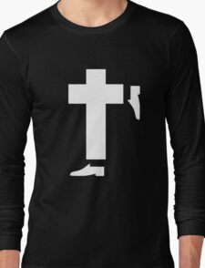 michael jackson tribute white Long Sleeve T-Shirt