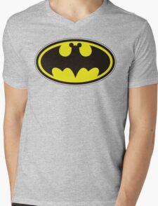 Bat Mickey Mens V-Neck T-Shirt