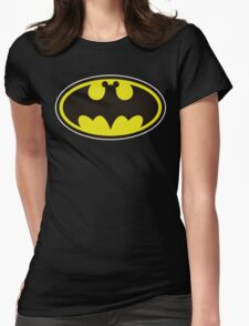 Bat Mickey Womens Fitted T-Shirt