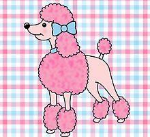 Pretty Pink Poodle by jadeboylan