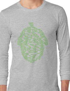 Hop Varieties of The World Long Sleeve T-Shirt