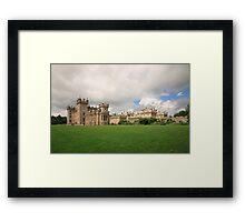 Floors Castle Framed Print