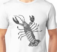 Crayfish Illustration Unisex T-Shirt