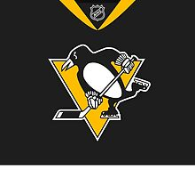 Pittsburgh Penguins Alternate Jersey by Russ Jericho