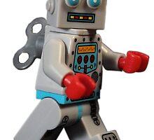 Lego Retro Robot by ajk92