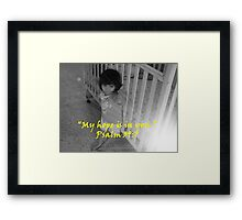 """Psalm 39:7""  by Carter L. Shepard Framed Print"