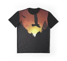 Eagles Flying High Graphic T-Shirt