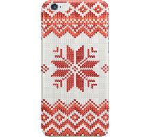 Merry Christmas pattern iPhone Case/Skin