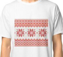 Merry Christmas pattern Classic T-Shirt