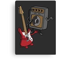 I wanna rock! Canvas Print