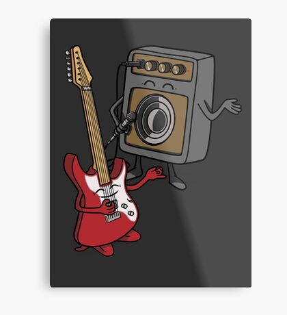 I wanna rock! Metal Print