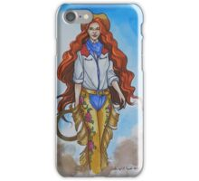 She's The Competition iPhone Case/Skin