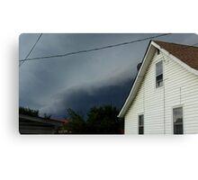 Severe Storm Warning 1 Canvas Print