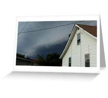 Severe Storm Warning 1 Greeting Card
