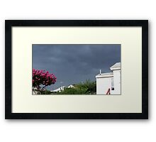Severe Storm Warning 3 Framed Print