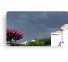 Severe Storm Warning 3 Canvas Print