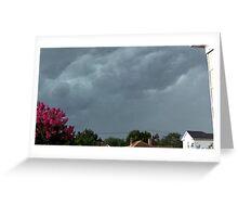Severe Storm Warning 4 Greeting Card
