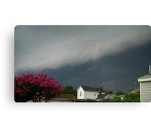 Severe Storm Warning 6 Canvas Print