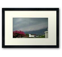Severe Storm Warning 7 Framed Print