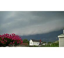 Severe Storm Warning 7 Photographic Print