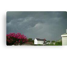 Severe Storm Warning 9 Canvas Print