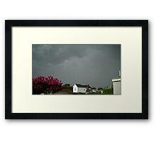 Severe Storm Warning 10 Framed Print