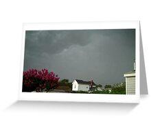 Severe Storm Warning 10 Greeting Card