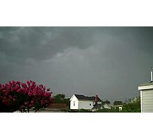Severe Storm Warning 10 Photographic Print