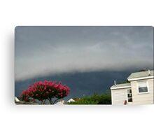 Severe Storm Warning 12 Canvas Print