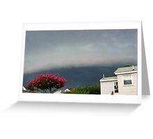 Severe Storm Warning 12 Greeting Card