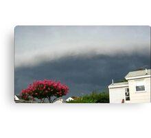 Severe Storm Warning 13 Canvas Print