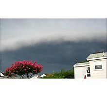 Severe Storm Warning 13 Photographic Print