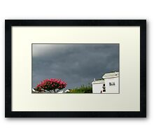 Severe Storm Warning 14 Framed Print