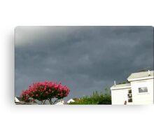 Severe Storm Warning 14 Canvas Print