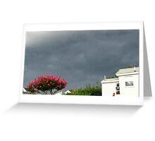 Severe Storm Warning 14 Greeting Card