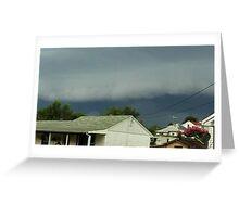 Severe Storm Warning 15 Greeting Card