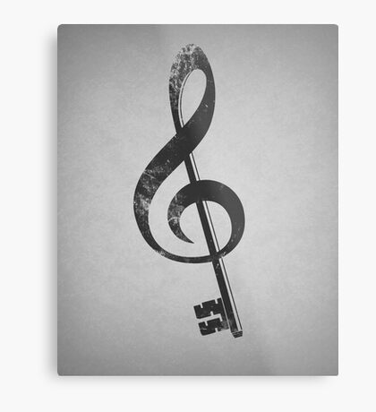 The G key. Metal Print