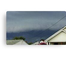 Severe Storm Warning 18 Canvas Print