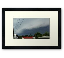 Severe Storm Warning 21 Framed Print