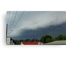 Severe Storm Warning 21 Canvas Print