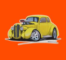 1936 Plymouth Coupe (B) Yellow Kids Tee